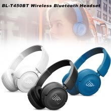 -JBL  Wireless Bluetooth Headphones Bass Sound Sports Music Foldable Headset Handsfree with Mic Noise Canceling Earphones on JD