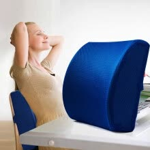 -Memory Foam Thickening 3D Ventilative Mesh Lumbar Support Cushion Back Cushion on JD