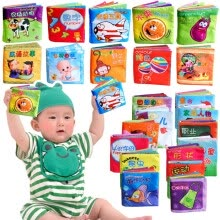 -Intelligence Development Cloth Fabric Cognize Book Educational Toy For Kid Baby on JD