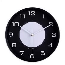-12 inches 30CM metal wall clock simple clock silent quartz movement watch for bedroom living room on JD
