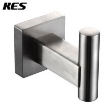 87502-KES A2260-2 Bathroom Single Robe Hook Stainless Steel Wall Mounted, Brushed on JD