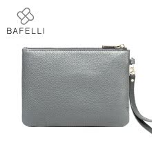 -BAFELLI bags for women 2017 Genuine Leather clutches women cow leather bolsos mujer famous brands day cltches women bag on JD