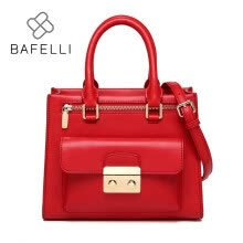 -BAFELLI handbags split leather classic box flap shoulder bags handbags famous brands pink red black crossbody bags for women bag on JD