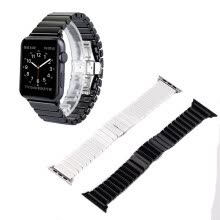 -High Quality Luxury stainless steel Butterfly Lock Ceramic Bracelet Strap for Apple Watch  42mm 38mm Series 3 / 2 / 1 on JD