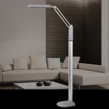 8750210-【Jingdong Supermarket】 Guan Ya eye protection floor lamp living room bedroom bedside floor lamp creative study piano European luxury floor lamp MT-3027-2 gem silver on JD