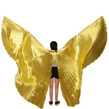 -2017 High Quality Egyptian Opening Isis Belly Dance Wings Dance Accessories Wings Sale Without Stick Brand New on JD