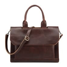 875062576-New leather vintage handbag men messenger bags Business briefcase for men High Quality Computer Laptop Handbag Men's Travel Bags on JD