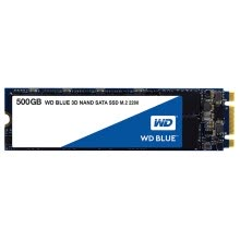 -Western Digital (WD) Blue Series 500GB M.2 Interface (SATA Protocol) SSD Solid State Drive (3D Advanced Plus Five Year Warranty) on JD