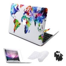 -World Map Laptop Sticker For Macbook Air/pro 11 12 13 15 Retina Skin Pro 13/15 Touch Bar Cases with Keyboard Cover 4 in 1 Sets on JD