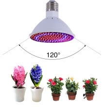 -LED Grow Lights Bulb , 20W E27/E26 LED Grow Light Plant lights Bulb Greenhouse Plant lights Seedling Light 166 Red 34 Blue for Gar on JD