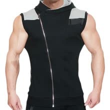 sweatshirts-MECH-ENG Men's  Hoodies Sweatshirt Sleeveless  Workout Gym Vest  Bodybuilding Muscle  Casual Tank  Top 7334 on JD