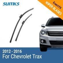 -SUMKS Wiper Blades for Chevrolet Trax 26'&14' Fit Push Button Arms 2012 2013 2014 2015 2016 on JD