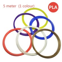 printers-PLA consumable filament 3D printer consumptive material PLA material (volume) 5 meter PLA material (1 colour) on JD