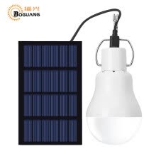 smart-light-bulbs-BOGUANG 1.5W solar panel power portable LED bulb light engegy lamp camp tent night outdoor survival camping equipment sport on JD