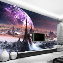 -Custom Photo Wallpaper 3D Stereo Universe Stars Wall Painting Art Mural Living Room Sofa Bedroom TV Backdrop 3D Mural Wallpaper on JD