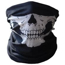875062531-Halloween Skull Mask, Neck Warmer For Outdoor Motorcycle and Bicycle on JD