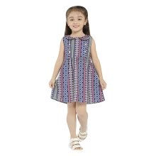 -Girls Summer&Spring Dress 2018 New Arrival Cotton Loose Sleeveless Midi Dresses For Girls Kids Clothing Casual Style Hot Sale on JD