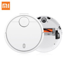 Robot-Vacuum-Cleaner-Original XiaoMi MI Mijia Robot Vacuum Cleaner for Home Automatic Sweeping Smart Planned WIFI APP Control Dust Sterili Cleaning on JD