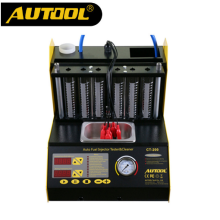 -AUTOOL Gasonline 6/4 Cylinder CT200 Car Motorcycle Auto Ultrasonic Injector Cleaning Tester 220/110V Better than Launch CNC602A on JD