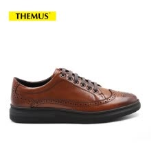men-leather-shoes-THEMUS Oxford Flats Men's Shoes Retro Series 6A03-18 on JD