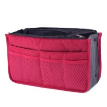 875062575-Women Travel Insert Handbag Organizer Purse Large Liner Organizer Tote Hand Bag on JD
