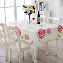 -【Jingdong Supermarket】 Qing reed tablecloth tablecloth frosted transparent waterproof dust sunflower 180 * 130cm on JD