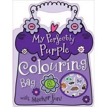 -Mini Mbi My Perfectly Purple Colouring Bag on JD