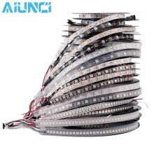 -DC5V 1m/5m WS2812B 30/60/144 pixels/leds/m Smart led pixel strip,Black/White PCB,WS2812 IC;WS2812B/M,IP20/IP65/IP67 on JD