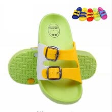 -New 2018 fashion buckle baby children's slippers cute cartoon slippers summer boys girls beach slippers home kids shoes on JD