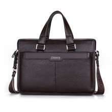 e96515f38440 P.kuone® men briefcase genuine leather business bag 14