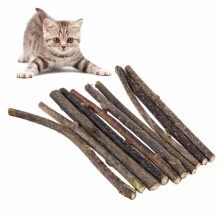 training-behavioral-aids-5pcs Pure Natural Catnip Pet Cat Toy Molar Toothpaste Branch Stick Cleaning Teeth Silvervine Cat Snacks Sticks Pet Cat Supplies on JD