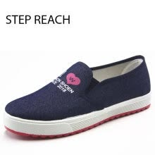 875061444-Women shoes flats student Canvas Shoes Simple All Matched Leisure Comfy Shoes on JD