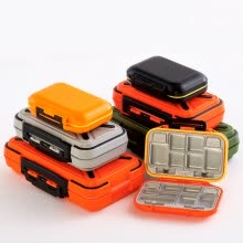tool-organizers-Multifunctional Waterproof Fishing Accessories Storage Box Tool Screws Accessories Box ABS Plastic Lattice Storage Box on JD