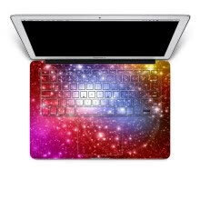 -GEEKID@Macbook Pro decal keyboard sticker skin cover sticker full decal red keyboard sticker US style keyboard protector on JD