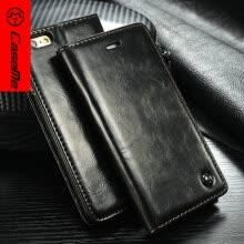 -Luxury Original CaseMe Leather Magnet Flip Case For iPhone 6 6s Unique Magnet Design case For iPhone6 6S 4.7 ' with free gift on JD