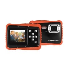 compact-digital-cameras-Compact Size 720P HD Digital Camera Camcorder 5MP CMOS Sensor 2.0' LCD Screen 3 Meters Waterproof with Built-in Microphone for Kid on JD