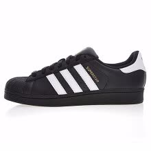 -Adidas Gold Label Shell Head Men's and Women's Walking Shoes Black Non-slip Wear-Resistant Balance B27140. on JD