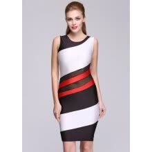 camera-cleaning-kits-screen-protectors-Stylish New Fashion Women Sleeveless O-neck Sexy Stretch Dress on JD