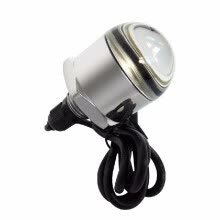 -Fashion 12V 10W Underwater LED Light Stainless Steel 304 IP68 Waterproof for Marine Yacht,Red Light on JD