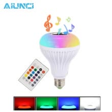 -E27 Smart RGB RGBW Wireless Bluetooth Speaker Bulb Music Playing Dimmable LED Bulb Light Lamp + 24 Keys Remote Control on JD