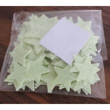 arts-crafts-100Pc Home Wall Glow In The Dark Space Star Stickers Ceiling Decal Baby Kid Room on JD