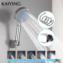 8750211-KAIYING shower head 5 function ABS plastic hand-held rain spray bath shower bathroom faucet accessories,TH1102 on JD