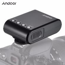 flashes-Andoer WS-25 Professional Portable Mini Digital Slave Flash Speedlite On-Camera Flash with Universal Hot Shoe GN18 for Canon Nikon on JD