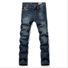 875068681-David Beckham England style hot sale men's Ripped straight jeans low-rise denim pants male fashion jeans men 28-38 on JD