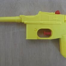 -1992 Основная забава SUPER SOAKER Key Chain WATER GUN Brand New TAG Yellow Toys Beach Water Gun Toys Дети Летние игры Squirt Toy Д on JD