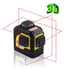 8750209-Firecore 12Lines 3D 93T Laser Level Self-Leveling 360 Horizontal And Vertical Cross Super Powerful Red Laser Beam Line on JD