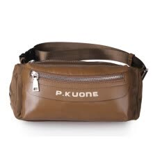 875062576-P.kuone® 2016 Hot Sale Men Genuine Leather Waist  Pack For Hiking Male Messenger Travel Bags Fashion Sport Crossbody bag for man on JD