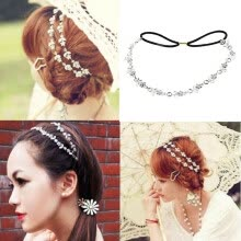 875062454-Women Silver Crystal Rhinestone Leaf Flowers Headband Hair Band Bridal Wedding on JD