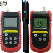 3g-modems-Handheld Min Fiber Optical Power Meter(-70dB to +6dB) + 1310nm,1550nm Wavelength Optical Laser Source + 10mw Visual Fault Locator on JD
