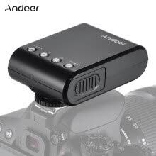 flashes-Andoer WS25 Professional Portable Mini Digital Slave Flash Speedlite OnCamera Flash with Universal Hot Shoe GN18 for Canon Nikon on JD